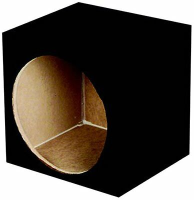 Q Power SOLO10 Solo Series MDF Wood Carpeted Single 10-Inch Unloaded Box