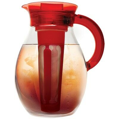 Primula The Big Iced Tea Pitcher - 1 Gal - 4 Quart Tea Maker - Silicone Handle,