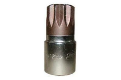 "Vim Products XZN114 14mm Triple Square Bit, With 3/8"" Square Drive"