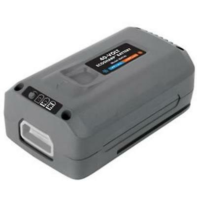 Snow Joe 40-volt Ecosharp Lithium-ion Battery - 4000 Mah - Lithium Ion [li-ion]