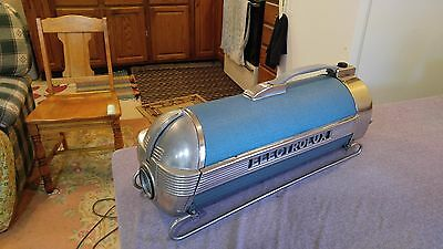 Vtg ELECTROLUX Vacuum Cleaner Model XXX Turquoise Very CLEAN!! One Attachment