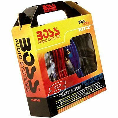 Boss Audio Kit2 8 Gauge Amplifier Installation Kit