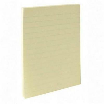 """Sparco Spr-70402 Adhesive Note Pad - Self-adhesive - 4"""" X 6"""" - Yellow - 12 /"""