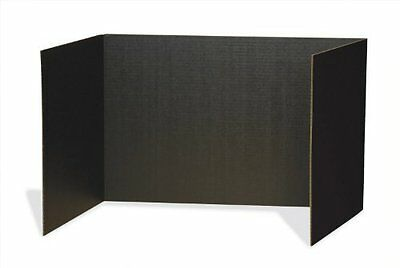 """Pacon Privacy Boards - 48"""" Width X 16"""" Height - Black (PAC3791)"""