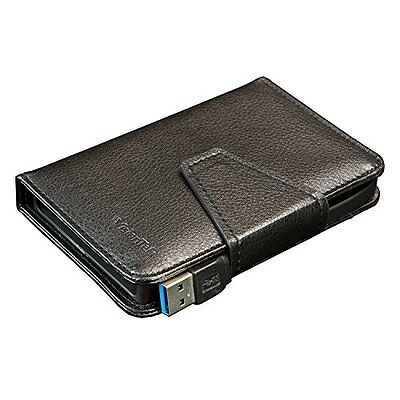 Visiontek 900762 Wallet Drive Usb 3.0 Portable Case 2.5in Drive Leather