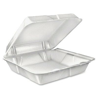 """Dart Container 90HT1R Dart Large 1-comprtmnt Carryout Foam Food Trays - 9"""""""