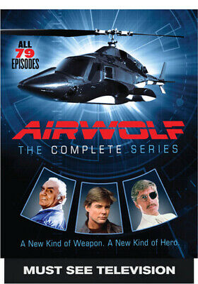 Airwolf: The Complete Series (DVD,2016)