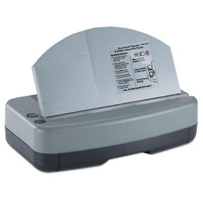 """Officemate 90115 Electric 2-3 Hole Adjustable Eco-punch, 9/32"""" Hole Diameter,"""