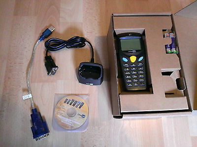 Cipherlab CPT 8000 C Barcodescanner m. Software Cradle USB Adapter Komplettpaket