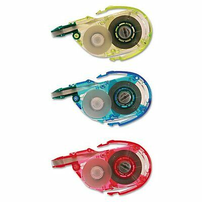 """Tombow Mono Correction Tape 3-pack Refill - 0.17"""" Width X 39.33 Ft Length - 1"""