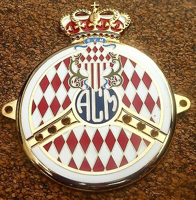 Automobile Club Monaco Car Grille Badge  - Acm - Gold