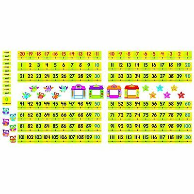 Trend Owl-stars Coll. -20 To 120 Board Number Line - Numbers - Assorted