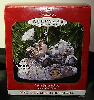 NASA Hallmark Christmas Ornament Lunar Rover Vehicle Magic Collectors Series