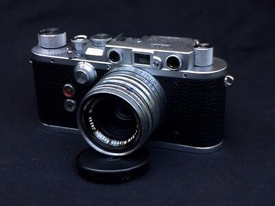 Nicca Type III S  camera with Nikkor f2 50mm (CLA'd) , case