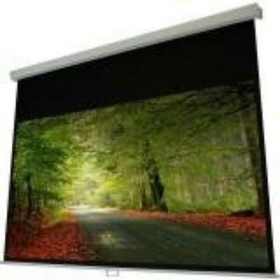 """Elunevision Atlas Manual Projection Screen - 84"""" - 4:3 - Wall/ceiling Mount -"""