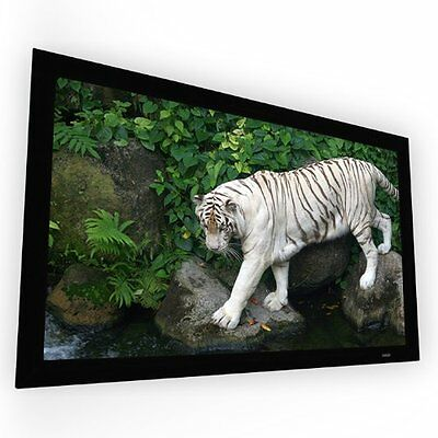 """Elunevision Reference Studio Fixed Frame Projection Screen - 125"""" - Reference"""