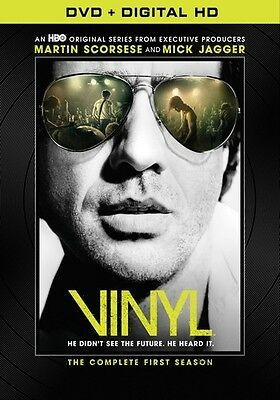 Vinyl: The Complete First Season (DVD,2016)