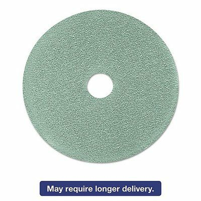 3m 17438 Ultra High-speed Floor Burnishing Pads 3100, 24-inch, Aqua, 5/carton