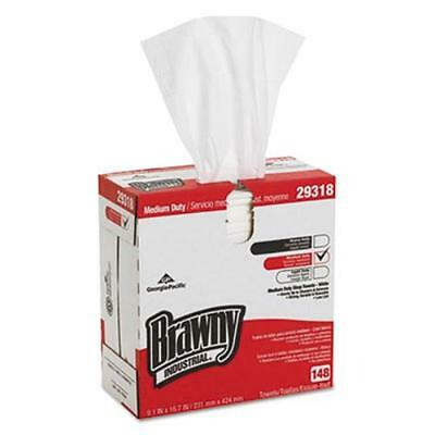 Georgia Pacific GPC293-18 Light Weight Hef Disposable Shop Towels, (gpc29318)