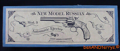 Navy Arms New Model Russian Model 3 Factory Issued 2-Piece Revolver Box /Case