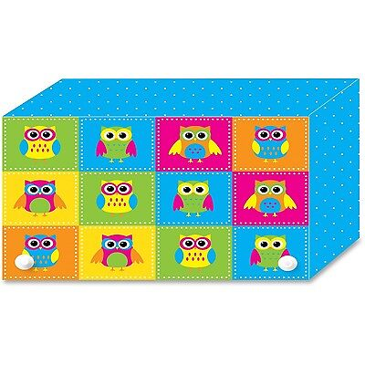 Ashley Colorful Owls Index Card Holder (ash-90452) (ash90452)