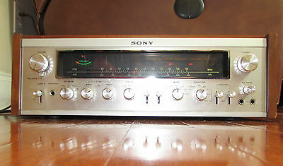 Vintage Sony STR-7065 AM/FM Receiver with wood case