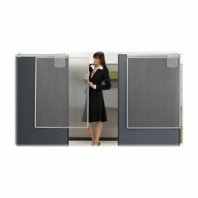 "Quartet Lightweight Workstation Privacy Screen - 36"" Width X 1.25"" Depth X 48"""