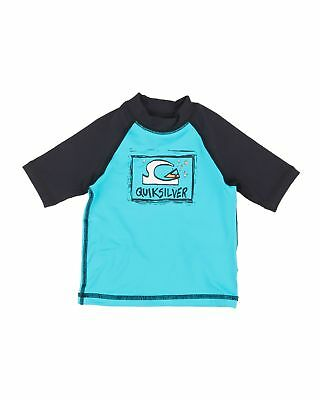 NEW QUIKSILVER™  Boys 2-7 Bubble Dream Short Sleeve Rash Vest Boys Teens Ski