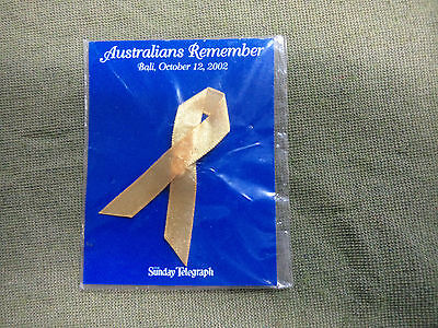 #d293.  2003 Remembrance  Badge For 2002 Bali Attack