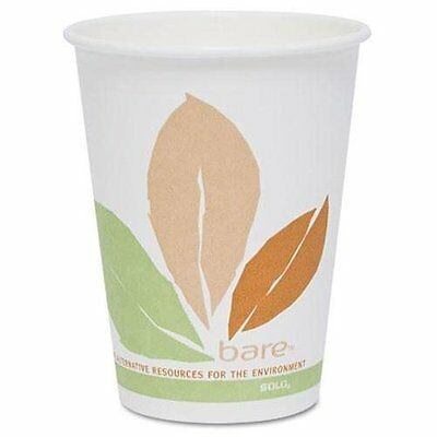 Solo Pla-lined Disposable Hot Cups - 8 Oz - 300 / Carton - Paper - White