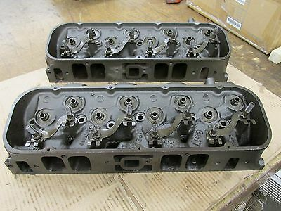 1966 Big Block Chevy BBC 396 427 Rectangle Port Heads 3873858 858 E-27-6 F-23-6