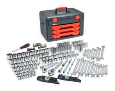 Kd Tools 80942 239 Piece Sae/metric Mechanic's Tool Set With 3 Drawer Case,