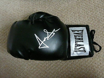 Jon Seda signed Black Everlast Boxing Glove Chicago P.D. and Homicide