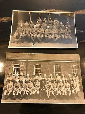 Two Vintage WWII Or Earlier Military Photos RAF And Iraq (Mesopotamia) Interest