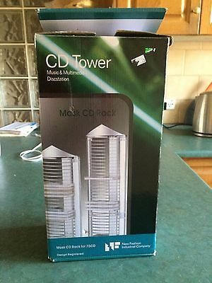 CD Tower: Music and Multimedia 75 Disc Station: AS NEW