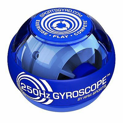 250hz Classic Gyroscopic Hand Grip Exerciser Ball for Strengthening Forearm or a