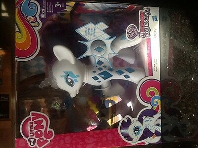 My Little Pony Glamour Glow Explore Equestria Rarity Doll NEW