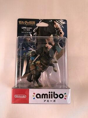 NEW Nintendo 3DS Amiibo Link Rider The Legend of Zelda Breath of the Wild JAPAN