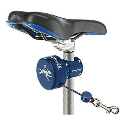 Automatic dog leash Dog & Roll for seatpost mounting Klein Metall bike seatpost