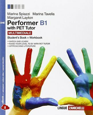 Performer b1 vol. one spiazzi/tavella [9788808800879]