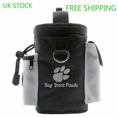Dog Training Pouch- Functional Dog Treat Bag with Bag Dispenser Small Objects UK