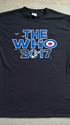 THE WHO UK tour shirt 2017. Size XXL.