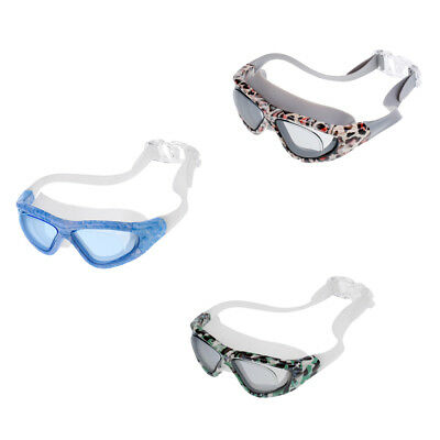 Unisex Adult Kids Waterproof Anti-Fog Swim Swimming Diving Dive Goggles Glasses