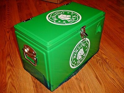 *NEW* ROLLING ROCK - BEER COOLER or ICE CHEST w/ BOTTLE OPENER - RARE #33