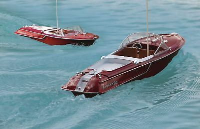 Remote Radio Controlled Speed Boat Venezia RTR Red 40 MHz RTR - NEW