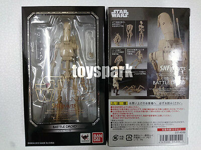 BANDAI S.H.Figuarts Star Wars EP I The Phantom Menace BATTLE DROID action figure