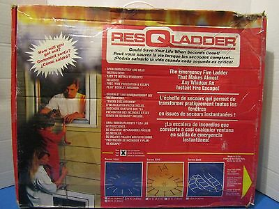 FIRE SAFETY RESCUE LADDER, Safety First! 15ft MADE USA