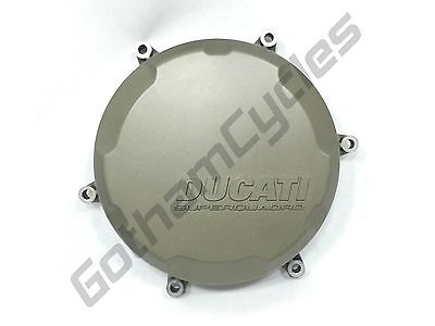 Ducati OEM Magnesium Gold Panigale Clutch Cover 1199 1199S 1199R 1299 1299S