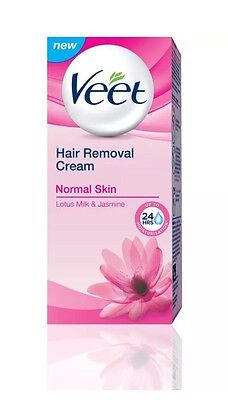 Veet Hair Removal Cream For Normal Skin Lotus Milk And Jasmine Fragrance 25ge