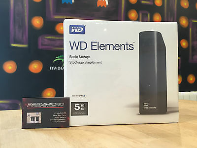 Disque Dur Externe Western Digital Elements 5 To/Tb - NEUF
